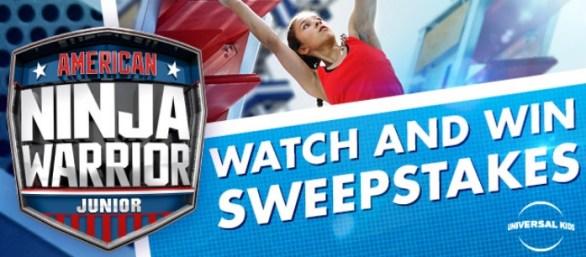 American Ninja Warrior Junior Watch And Win Sweepstakes