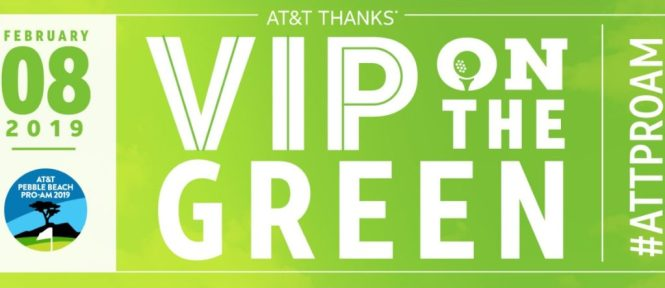 At And T Thanks VIP On The Green Contest