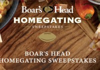 Boars Head Homegating Sweepstakes