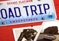 Decade Platinum Cigarettes Road Trip Sweepstakes