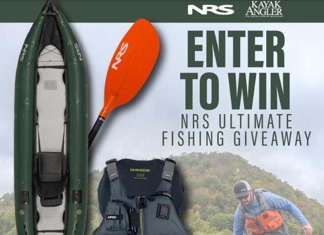Kayak Angler Magazine NRS Ultimate Fishing Giveaway