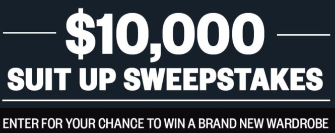 Mens Health $10000 Suit-Up Sweepstakes