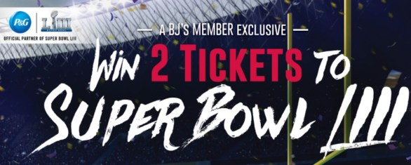 P And G Super Bowl Sweepstakes