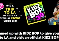 Playmonster Mad Moves Kidz Bop Sweepstakes