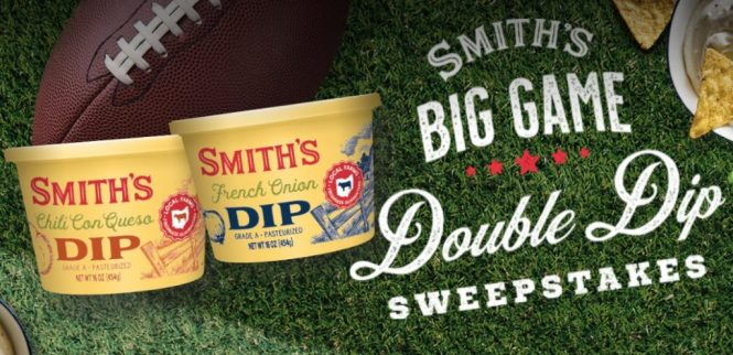 Smiths Big Game Double Dip Sweepstakes