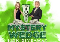 Wheel Of Fortune My$tery Wedge $10K Giveaway