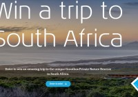 iFly KLM Magazine Spot On Grootbos Sweepstakes
