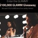 $100000 Glammy Vanity Mirror Giveaway