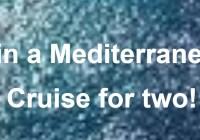 Behearty Mediterranean Cruise Sweepstakes