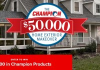 Champion Window Home Exterior Makeover Giveaway