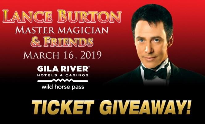 Fox 10 Phoenix Lance Burton Magic Show Giveaway