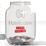 Hotels.com Winter Swear Jar Sweepstakes