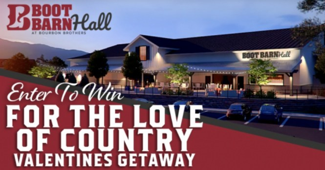 KYGO For The Love Of Country Valentines Getaway Contest