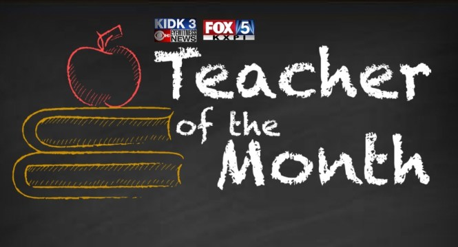 Local News 8 Teacher Of The Month Contest