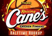 My Columbus Power Raising Canes Halftime Hookup Contest