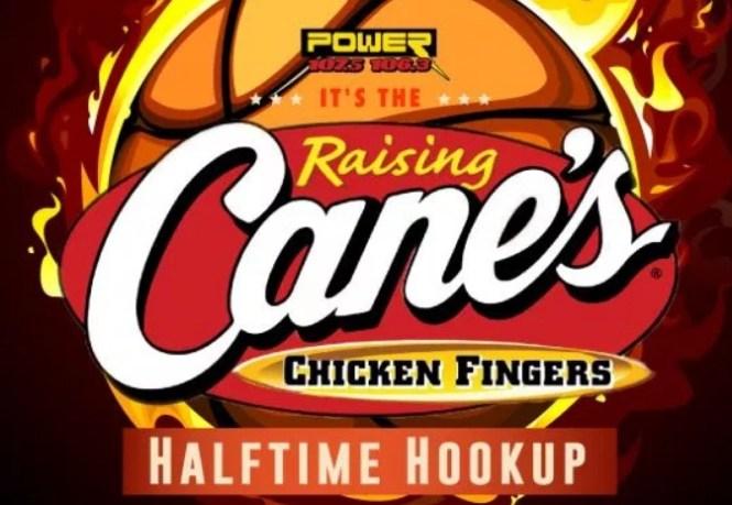 My Columbus Power Raising Canes Halftime Hookup Contest