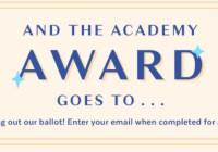 Popsugar Oscars Ballot Sweepstakes