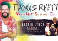 Thomas Rhett Tickets On-Air Contest
