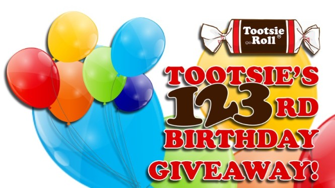 Tootsie Roll 123rd Birthday Giveaway
