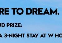 W Hotels The Store Sweepstakes