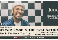 Anderson Paak Sweepstakes