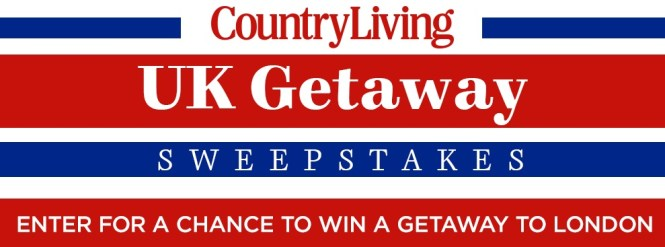 Country Living UK Getaway Sweepstakes