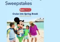 Cruise Into Spring Break Sweepstakes