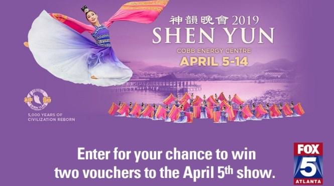 FOX 5 Shen Yun Giveaway