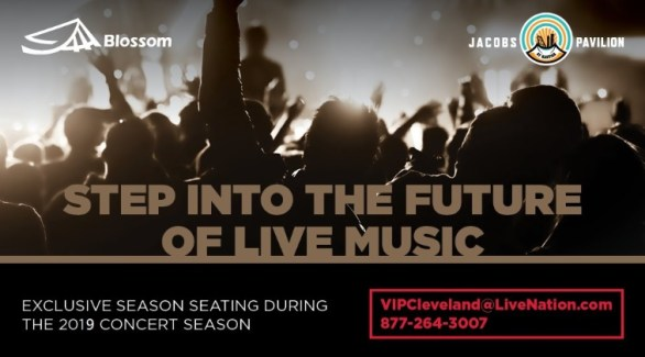 Live Nation Premium Seat Experience Sweepstakes