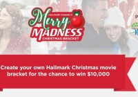 Merry Madness Christmas Bracket Sweepstakes