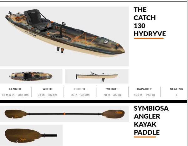 Pelican March 2019 Sweepstakes - Win The Catch 130 Hydryve