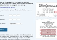 Walgreens Customer Satisfaction Survey Sweepstakes