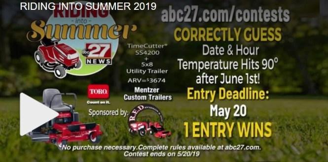 ABC 27 Riding Into Summer Contest