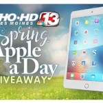 Channel 13 Spring Apple A Day Giveaway