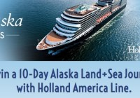 Holland America Line Best Of Alaska Sweepstakes