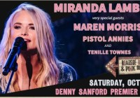 Miranda Lambert Concert Tickets Giveaway