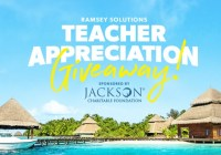 Ramsey Solutions Teacher Appreciation Giveaway