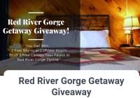 Red River Gorge Getaway Giveaway