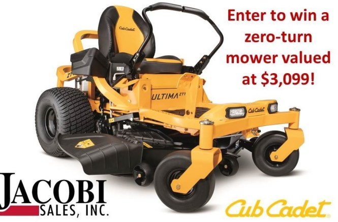 WDRB Cub Cadet Zero-Turn Mower Giveaway