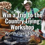 Country Living Workshop Free Trip Sweepstakes