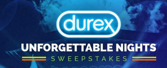 Durex Unforgettable Nights Sweepstakes