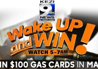 KEZI Wake Up And Win Gas Card Giveaway