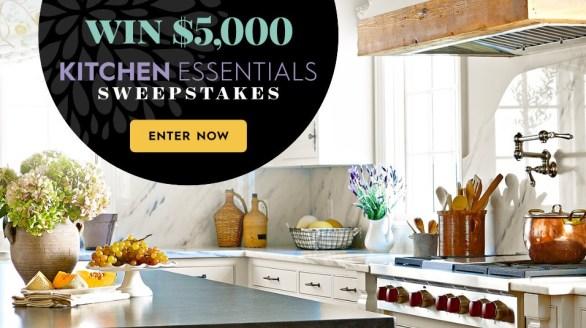 Kitchen Essentials Sweepstakes