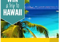 Love Beach Travel Hawaii Giveaway