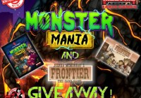 Monster Mania and Frontier the Card Game Giveaway