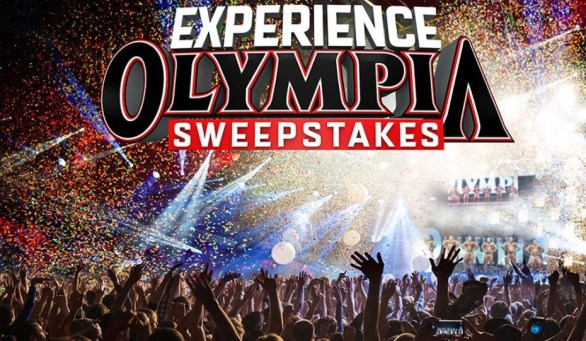 Muscle And Fitness Experience Olympia Sweepstakes
