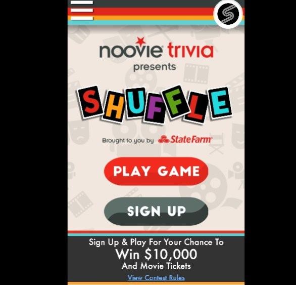 Noovie Shuffle Sweepstakes - Enter To Win $10000 Check