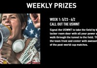 Powerade And USWNT Sip And Scan Sweepstakes