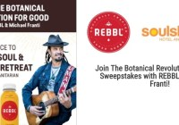 Rebbl Botanical Revolution For Good Sweepstakes