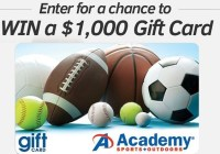 Academy Sports And Outdoors Customer Survey Sweepstakes